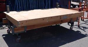 Steel and Wood Tilt Table