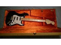 USA Fender Stratocaster Billy Corgan Signature Strat Tweed Hardcase Rare Guitar!