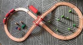 ELC wooden train set