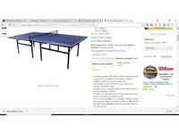 Full Sized Table Tennis Table