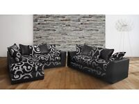 NEW DFS CORNER SOFA+SOFA CAN DELIVER TODAY FREE