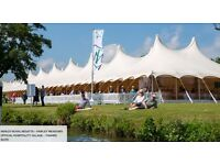 4 VIP Hospitality Henley Royal Regatta Fawley Meadows tickets Sun 2nd July, Food and Drinks all day