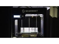 SHAREBOT NG 2 EXTRUDERS 3D Printer w/ many accessories