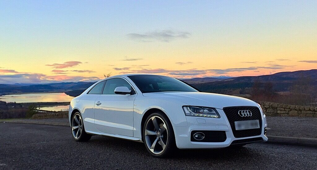 2010 audi a5 coupe tdi sline in tain highland gumtree. Black Bedroom Furniture Sets. Home Design Ideas