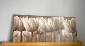 Ikea tulip canvas
