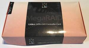 LSI MegaRAID SAS 9361-8i 12Gb/s + Cables ($1450 RRP) New Town Hobart City Preview