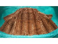 Beautiful Real Leopard Fur Jacket / Coat, with CITES, size L