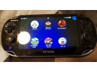 PS Vita 1000 Wifi & 3G With 4 GAMES