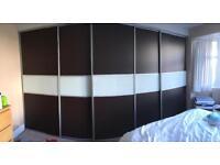 5 sliding wardrobe doors