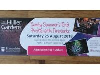 Tickets for Hillier's Summer's End Picnic