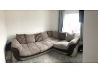 Hewitt Left Hand Facing 2 Seater Pillow Back Corner Sofa