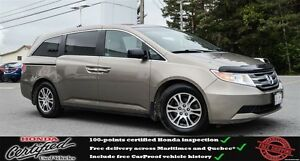 2012 Honda Odyssey EX, DVD, Heated Seats, One Owner !!
