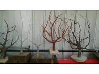 copper wiper tree sculptures buy local eco artist