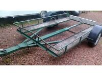 trailer suit motorbike, quad, grass track car, transporter loading ramps