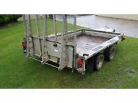 Ifor Williams plant trailer 10x6
