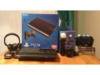 PS3 500gb with games and accessories for sale. Collect from Chester le street