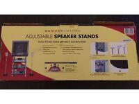 Brand New Sanus Systems Universal, Adjustable Speaker Stands HTB7 (One Pair)