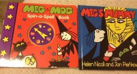 Meg and Mog books