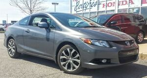2012 Honda Civic Si (M6) COUPE , GPS , TOIT OUVRANT