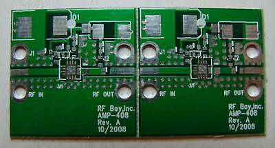 Pcb For Hittite Hmc408lp3 5.1-5.9ghz Mmic 1w Amp Qty.2