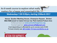 Action for Happiness 8-Week evening class in central Bristol