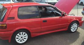 Toyota Corolla GTI 16V twin cam Rare Reliable & Resilliant