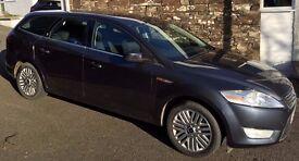 2008 Ford Mondeo ghia estate 2.0 litre for sale. MOT till 14 December 2017