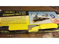 REDUCED Compound mitre saw