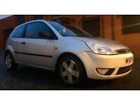 99000 MILES ONLY 2003 FORD FIESTA ZETEC 1.4 PETROL 80 BHP GREAT DRIVE 6 MONTHS WARRANTY