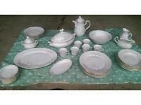 Vintage retro tea/dinner set for 6