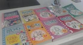 Dork Diaries Paper Back Books x9 for sale!