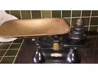 Vintage Original Fereday Weylux Queen Kitchen Scales
