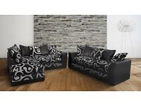 NEW DFS CORNER SOFA+SOFA CAN DELIVER FREEE