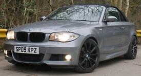BMW 120d covertible