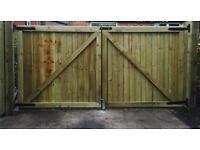 Gates wooden gates side gate driveway gate