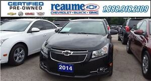 2014 Chevrolet Cruze 2LT RS PACKAGE Leather Sunroof Mylink