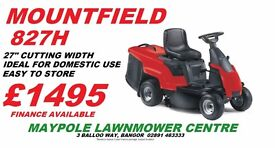 New Domestic Lawnmower Ride On **End Of Season SAVE £££ LOWEST PRICE!!