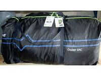 Outwell CRUISER6 AC tent, brand new air tent with accessories.