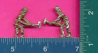 100 wholesale lead free pewter miner figurines m11015