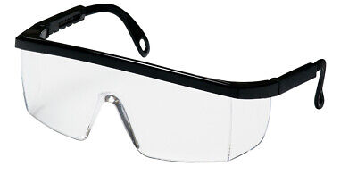 Best Quality Pyramex Safety Glasses: Black Frame Free Clear Lens (288