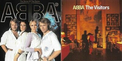 ABBA ‎– The Visitors + The Name Of The Game CD Album Waterloo SOS Gimme