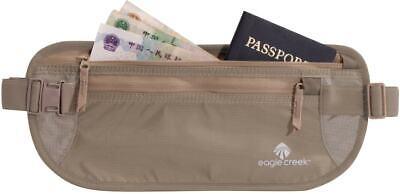 Eagle Creek Undercover Money Belt DLX Travel Wallet Mens Kha