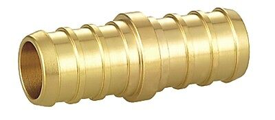 1 X 1 Barbed Brass Coupling For Pex 6 Pieces