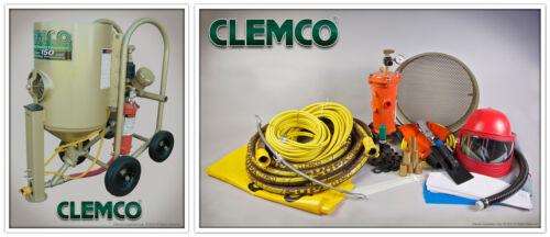 Industrial Sandblasting System #21549, Clemco Contractor 6 Cu. Ft. Sandblaster
