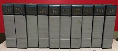 Lot Of 10 Allen Bradley Slc 500 Input Module 1746-iv16 Series C