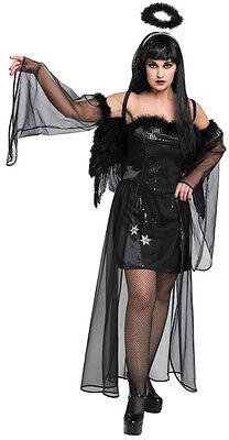 Dark Angel Halloweenkostüm für Frauen NEU - Damen Karneval Fasching - Dark Angel Halloween Kostüm