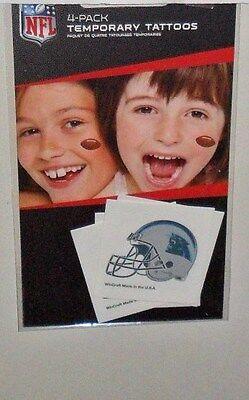 NFL CAROLINA PANTHERS 4 TEMPORARY TATTOOS FAST FREE SHIPPING](Carolina Panthers Tattoo)