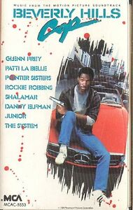 Beverly Hills Cop Soundtrack cassette tape