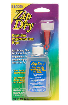 Beacon Zip Dry, The #1 Paper and Scrapbooking Glue - Scrapbooking Glue