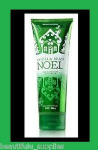 BATH and BODY WORKS Vanilla Bean Noel Triple Moisture Body Cream NEW 8 oz